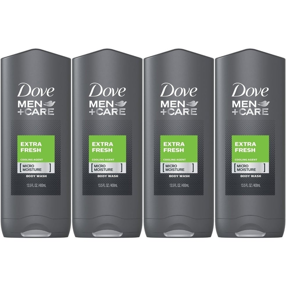 Shop 4 Pack New Dove Men And Care Body And Face Wash Extra Fresh 13 50 Ounces Overstock 29438449