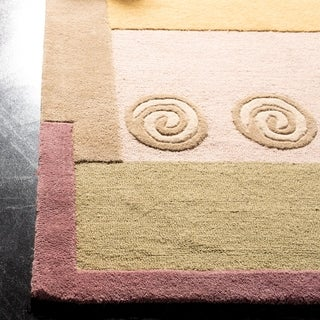 Safavieh Handmade Rodeo Drive Ralda Mid-Century Modern Abstract Wool Rug (2 x 3 - Beige)