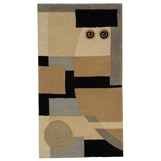 Safavieh Handmade Rodeo Drive Ralda Mid-Century Modern Abstract Wool Rug (6 x 9 - Assorted)