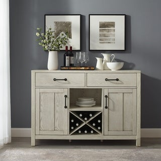 Roots Sideboard in Whitewash - N/A