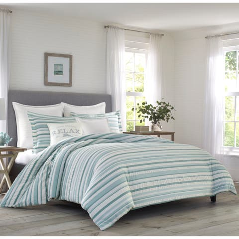 Relax by Tommy Bahama Clearwater Cay Blue Comforter Set