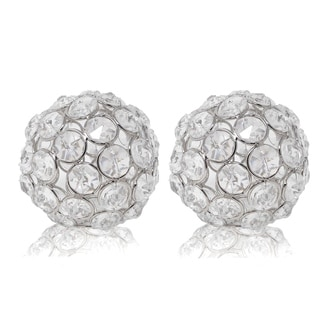 Modern Day Accents Facetas Cristal Sphere - Set of 2