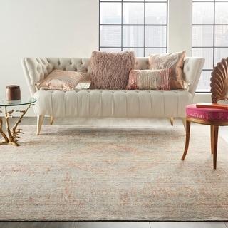 Nourison Silken Weave Contemporary Floral Area Rug