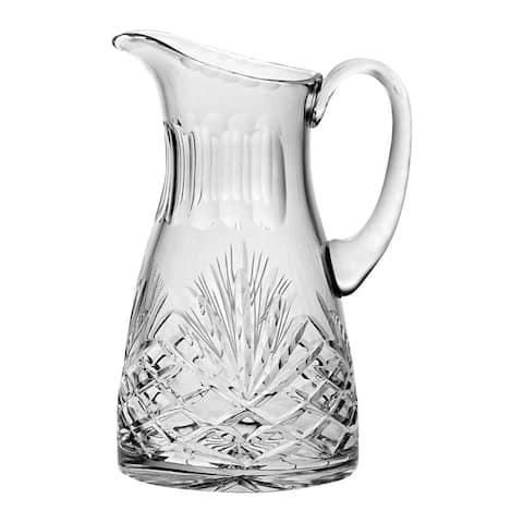 Majestic Gifts Inc. Cut crystal pitcher W/ Handle-24 oz.
