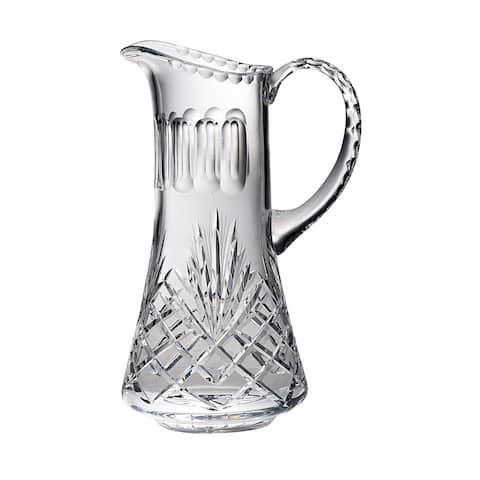 Majestic Gifts Inc. Cut crystal pitcher W/ Handle-36 oz.