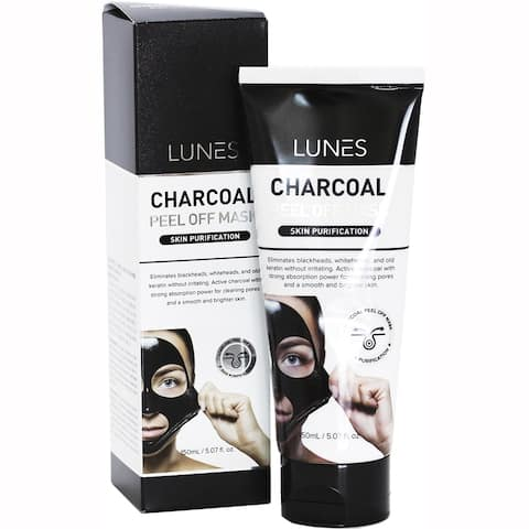 Lunes Charcoal 5.07-ounce Peel Off Mask