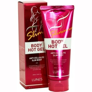 Lunes Body Hot Gel 6.76-ounce Anti Cellulite