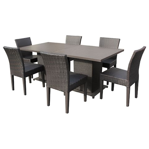 Napa Square Dining Table with 6 Chairs