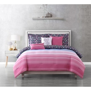 Link to Juicy Couture Beach Sky 6-Piece Reversible Set Similar Items in Comforter Sets