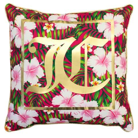 Juicy Couture Tropical Oasis Indoor/Outdoor Pillow