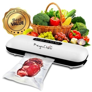 MegaChef Home Vacuum Sealer and Food Preserver with Extra Bag