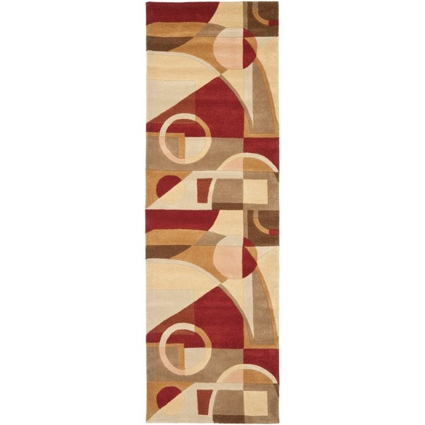 Shop Safavieh Handmade Rodeo Drive Modern Abstract Beige