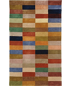 Safavieh Handmade Rodeo Drive Modern Abstract Multicolored Wool Rug (2' 6 x 4' 6)