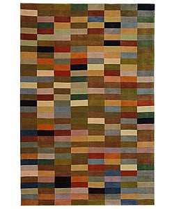 Safavieh Handmade Rodeo Drive Modern Abstract Multicolored Wool Rug (3'6 x 5'6)