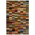 Safavieh Handmade Rodeo Drive Modern Abstract Multicolored Wool Rug (3'6 x 5'6)