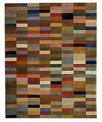 Safavieh Handmade Rodeo Drive Modern Abstract Multicolored Wool Rug - 8' X 11'