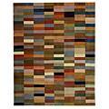 Safavieh Handmade Rodeo Drive Modern Abstract Multicolored Wool Rug - 8' x 11'