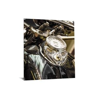 "40x60 Brilliant Tempered Glass ""Motorcyle Gastank"" by Classy Art"