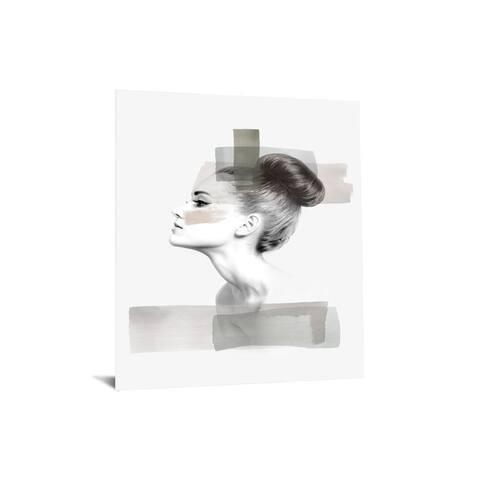 "40x60 Brilliant Tempered Glass ""Ballerina Bun"" by Classy Art"