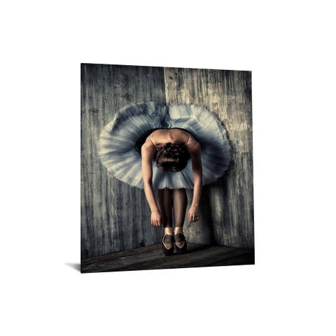 "40x60 Brilliant Tempered Glass ""Ballerina Stretch"" by Classy Art"