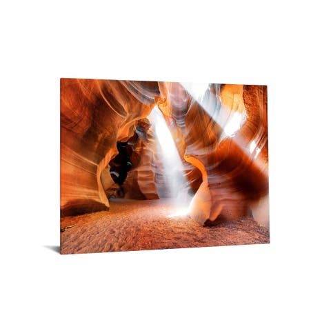 "40x60 Brilliant Tempered Glass ""Canyon Art"" by Classy Art"