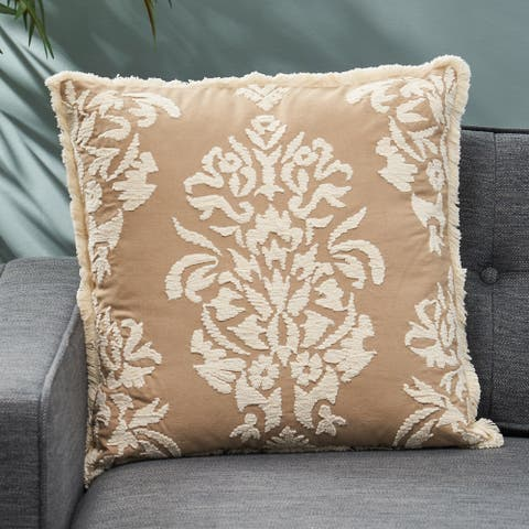 Aliza Cotton Pillow Cover by Christopher Knight Home