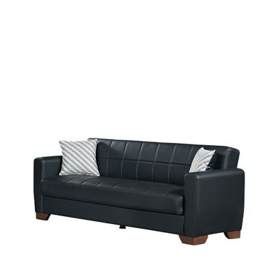 Buy Sleeper Sofa, Faux Leather Online at Overstock | Our ...