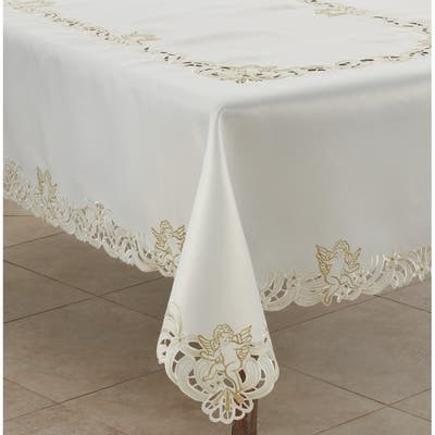 Dry Clean Off White Tablecloths
