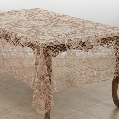 Vintage Lace Tablecloth