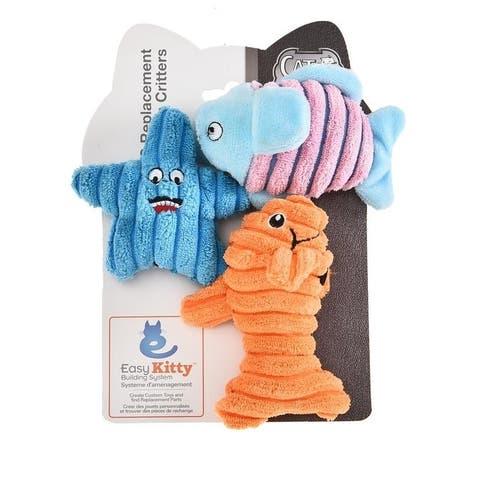 Cat Craft EK QC Sea Critters Toys- 9 Total