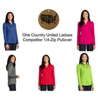 Link to One Country United Ladies Competitor 1/4 Zip-Pullover Similar Items in Men's Athletic Clothing