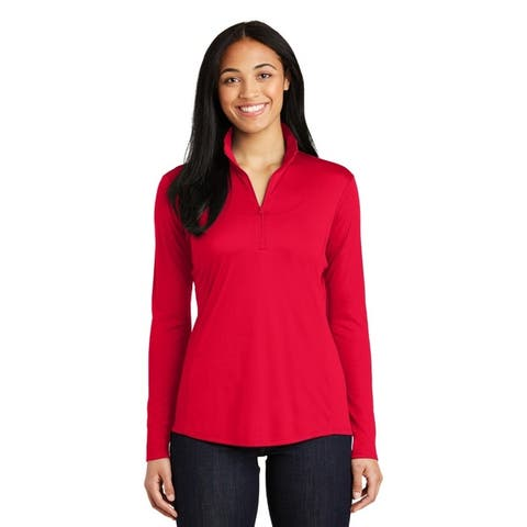 One Country United Ladies Competitor 1/4 Zip-Pullover