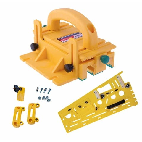 Microjig Grr-Ripper 3D Pushblock with Tapering Jig and Handle Bridge