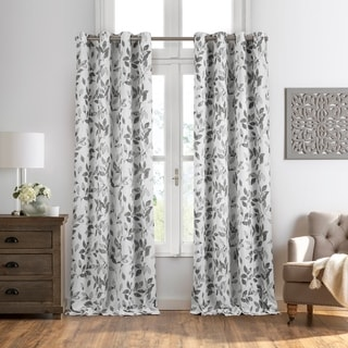 Link to Avalon Botanical Print Blackout Window Curtain Similar Items in Curtains & Drapes