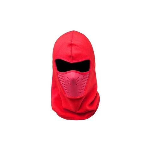 Ski Face Fleece Unisex Mask Warm Windproof Anti-dust Winter's Red Baclava