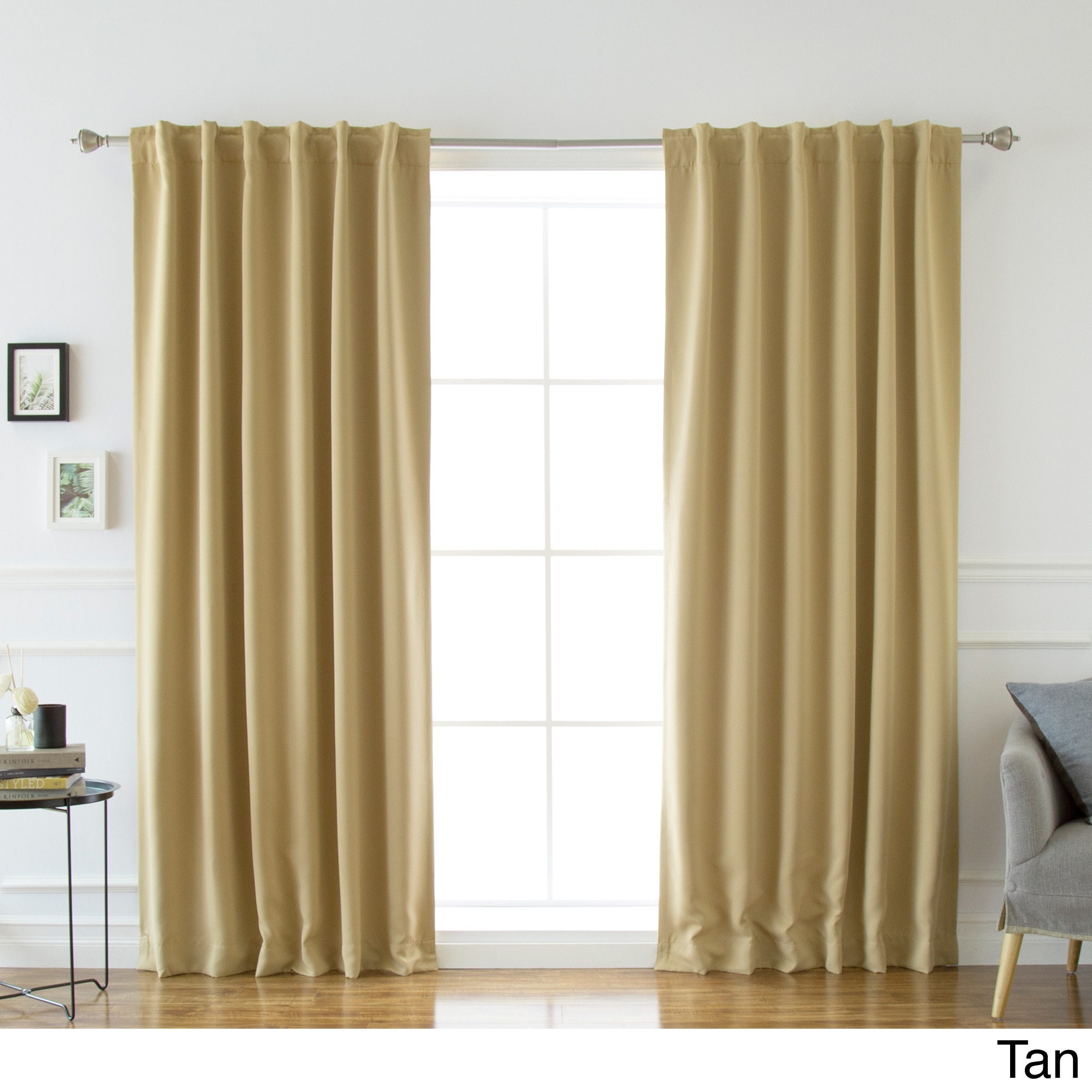 Tan Curtains & Drapes For Less | Overstock