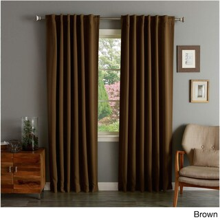 Aurora Home Insulated Thermal Blackout 84-inch Curtain Panel Pair - 52 x 84 (More options available)