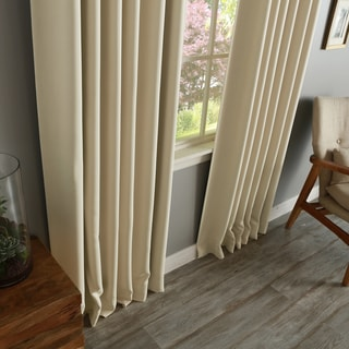 Aurora Home Insulated Thermal Blackout 84-inch Curtain Panel Pair - 52 x 84 (Disc. Orange)