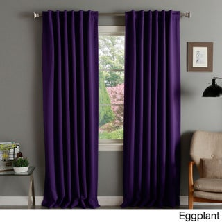 Aurora Home Insulated Thermal Blackout 84-inch Curtain Panel Pair - 52 x 84 (2 options available)