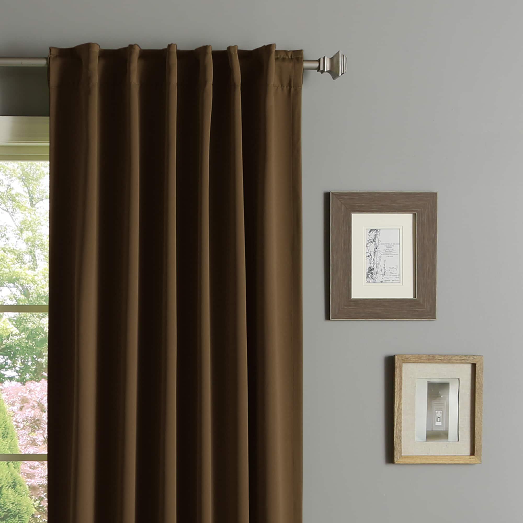Brown Curtains 60 Drop Curtain Menzilperde Net