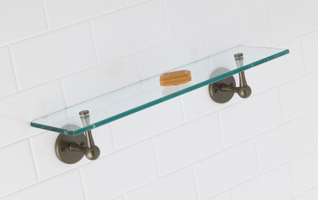 Coventry 24-inch Glass Shelf