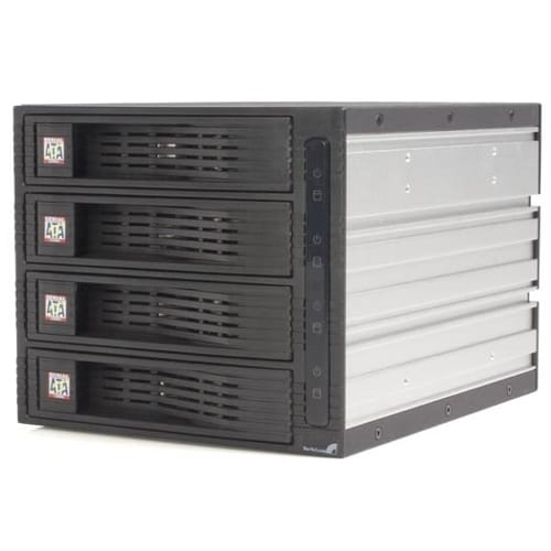 StarTech.com 4 Drive 3.5in Trayless SATA Mobile Rack