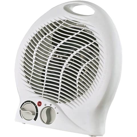 Optimus Portable 2-Speed Fan Heater with Thermostat H-1322