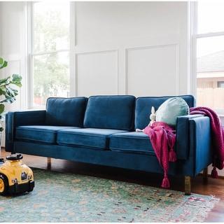 Carson Carrington Paberg Mid-Century Modern Sofa