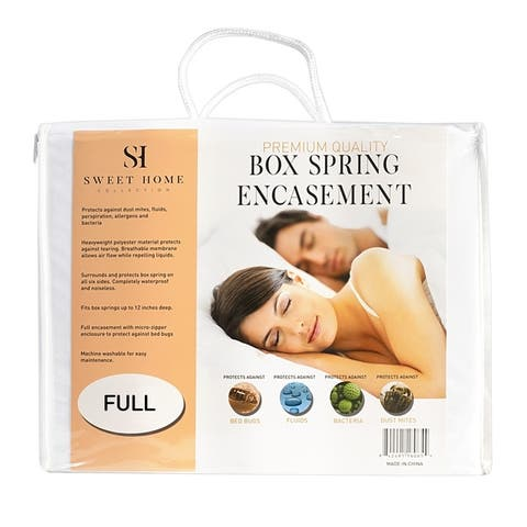 Waterproof Bed Bug Proof Box Spring Encasement Protector
