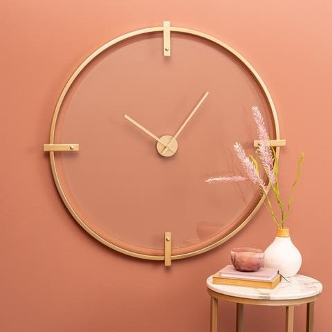 Carson Carrington Ysjo Round Wall Clock