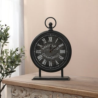Metal Vintage Table Top Clock