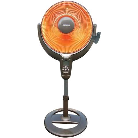 Optimus Oscillating Pedestal Digital Dish Heater H-4501