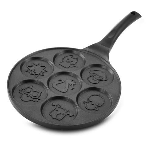 MegaChef Fun Animal Design 10.5 Inch Nonstick Pancake Maker Pan