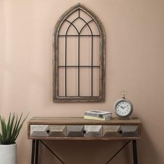 Shop Sunjoy Cathedral Windowpane Style Garden Mirror Made